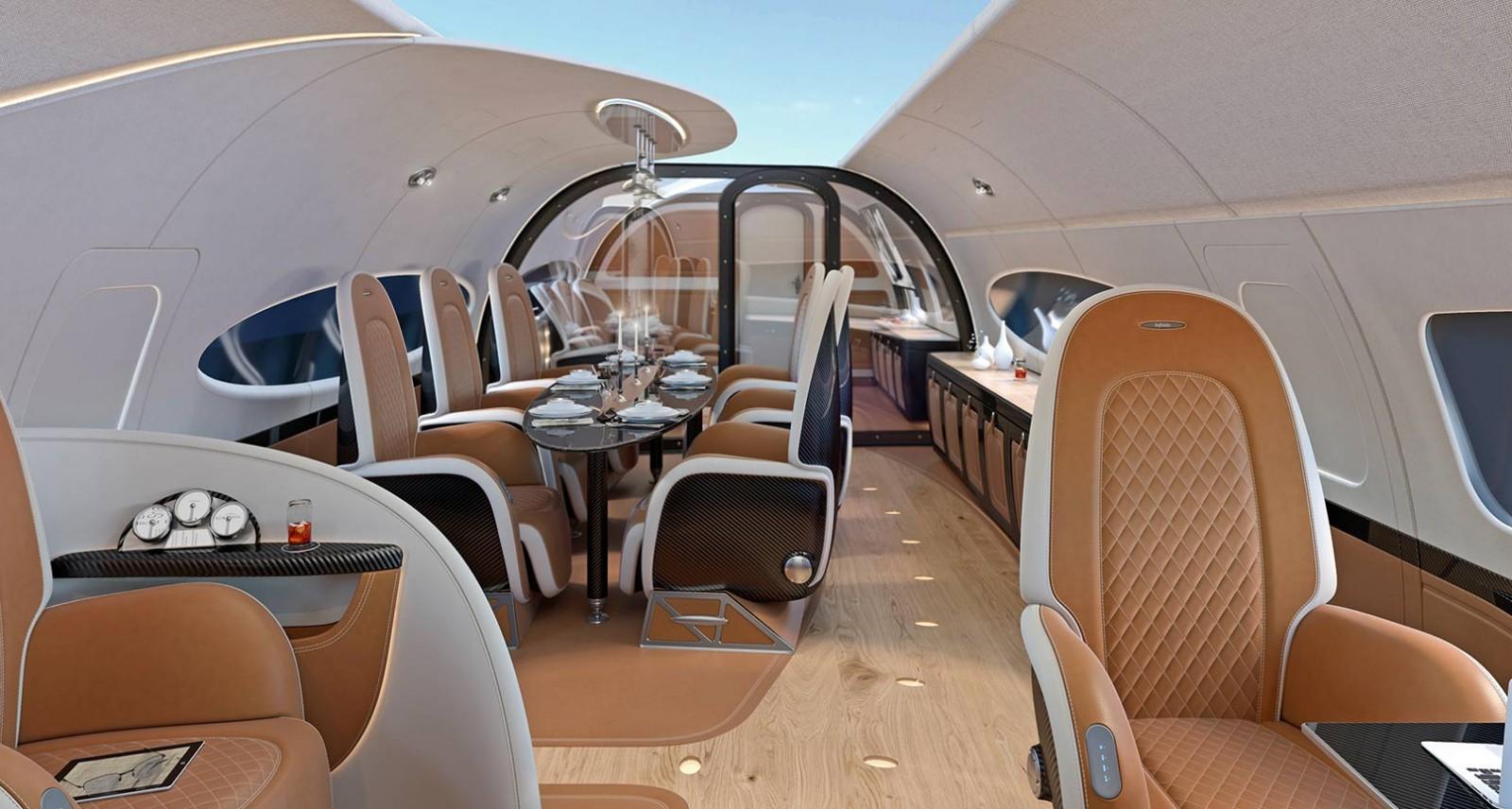 هذه الطائرة من باجاني وإيرباص تجعلك تشعر وكأنك في سيارة سوبر رياضية طائرة