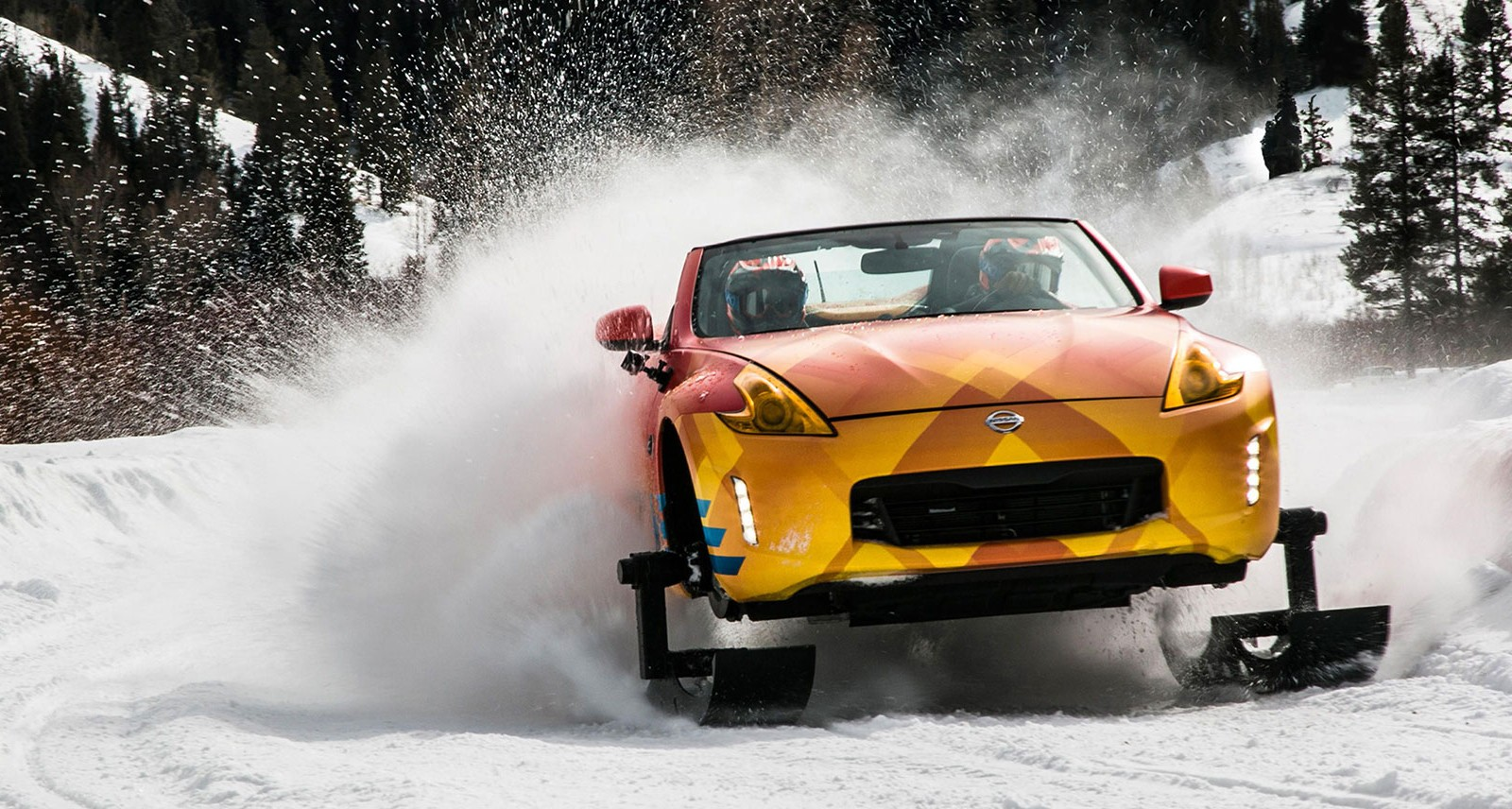 This Nissan 370Zki Snowmobile-Car Is the Ultimate Winter Beater
