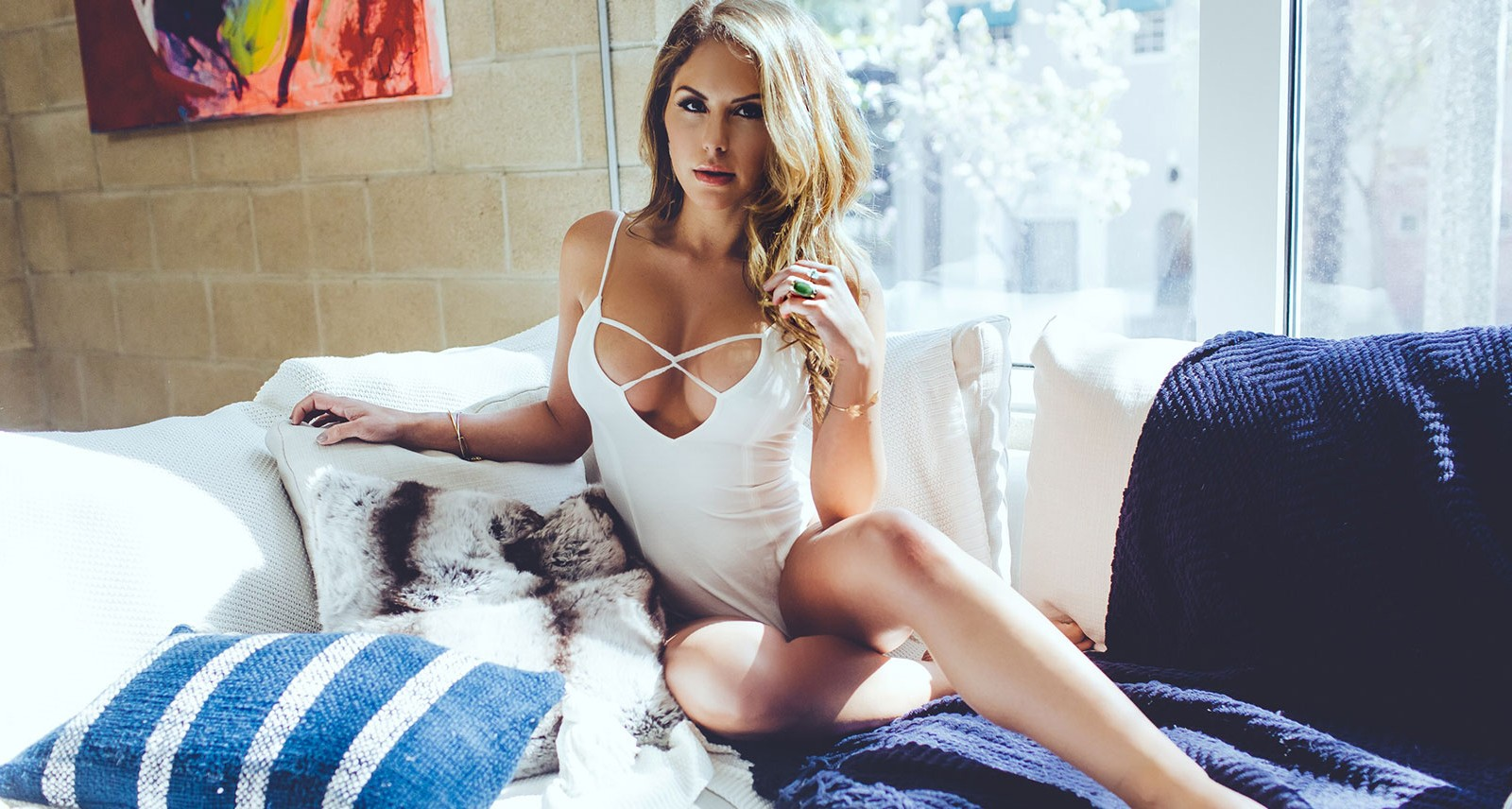Brittney Palmer Is the Queen of the Octagon