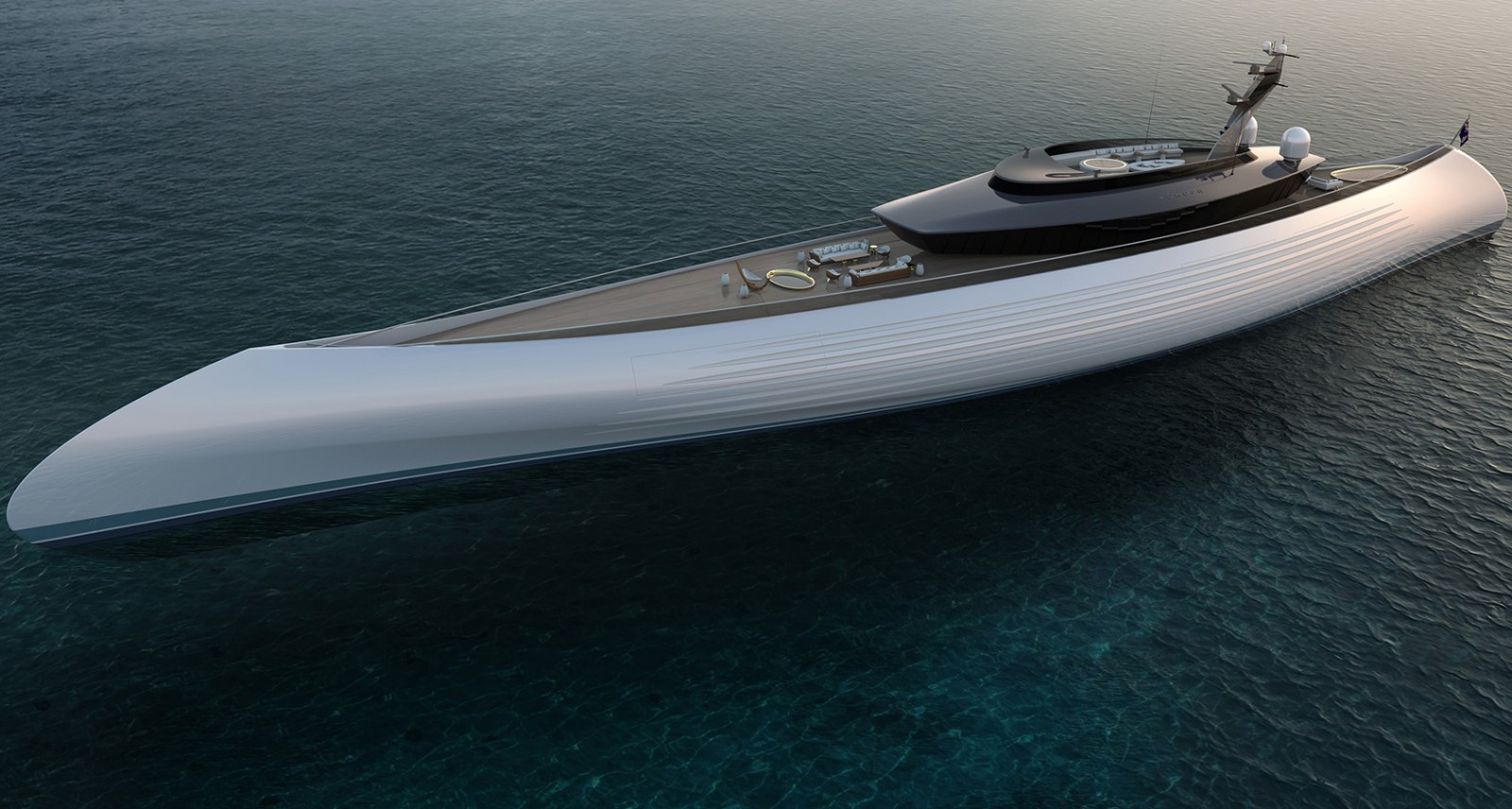 This 377-Foot Superyacht Is Actually a Souped-Up Polynesian Canoe