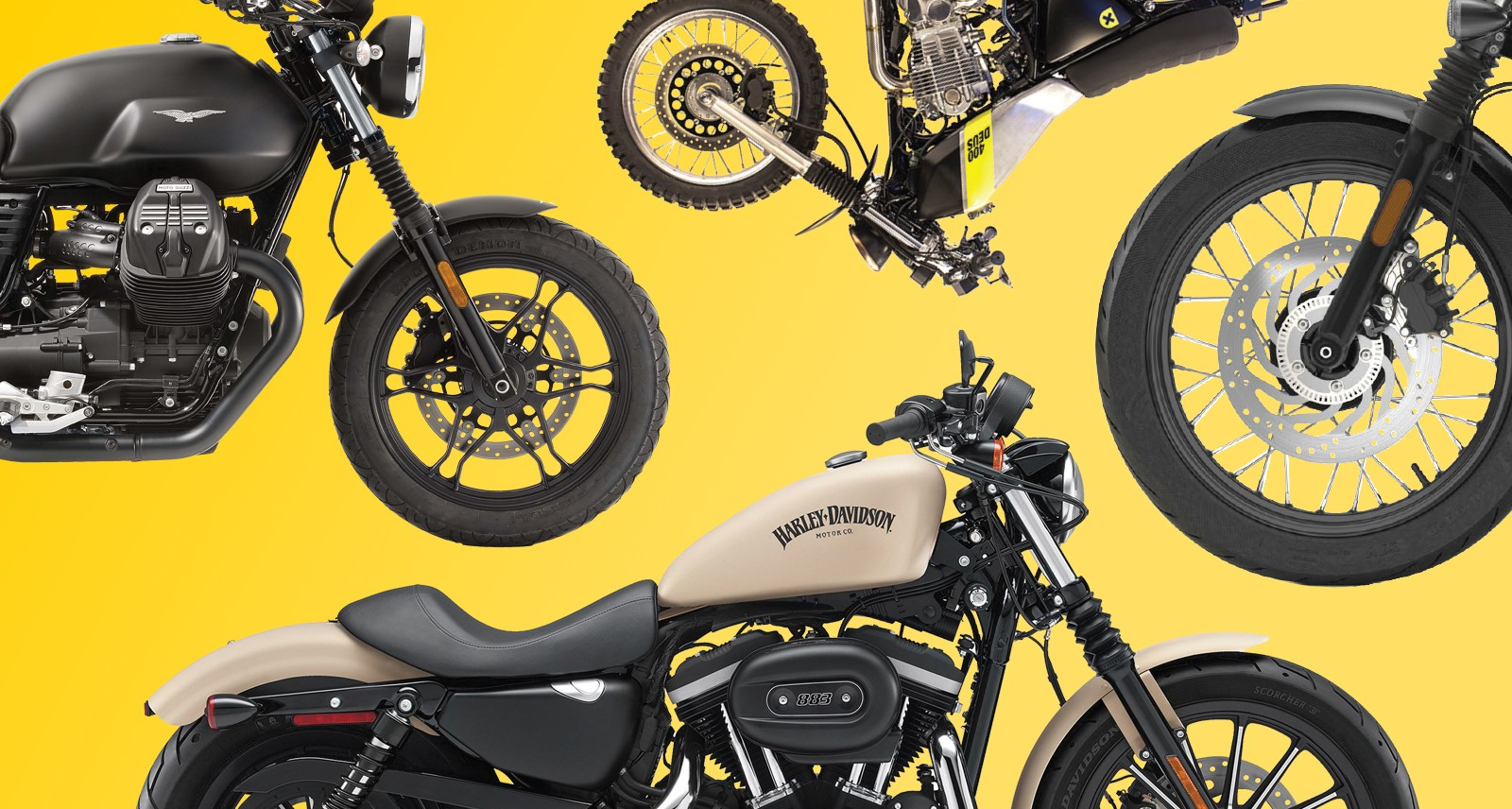 6 Motorcycles That'll Make You Want to Start Your Mid-Life Crisis Early