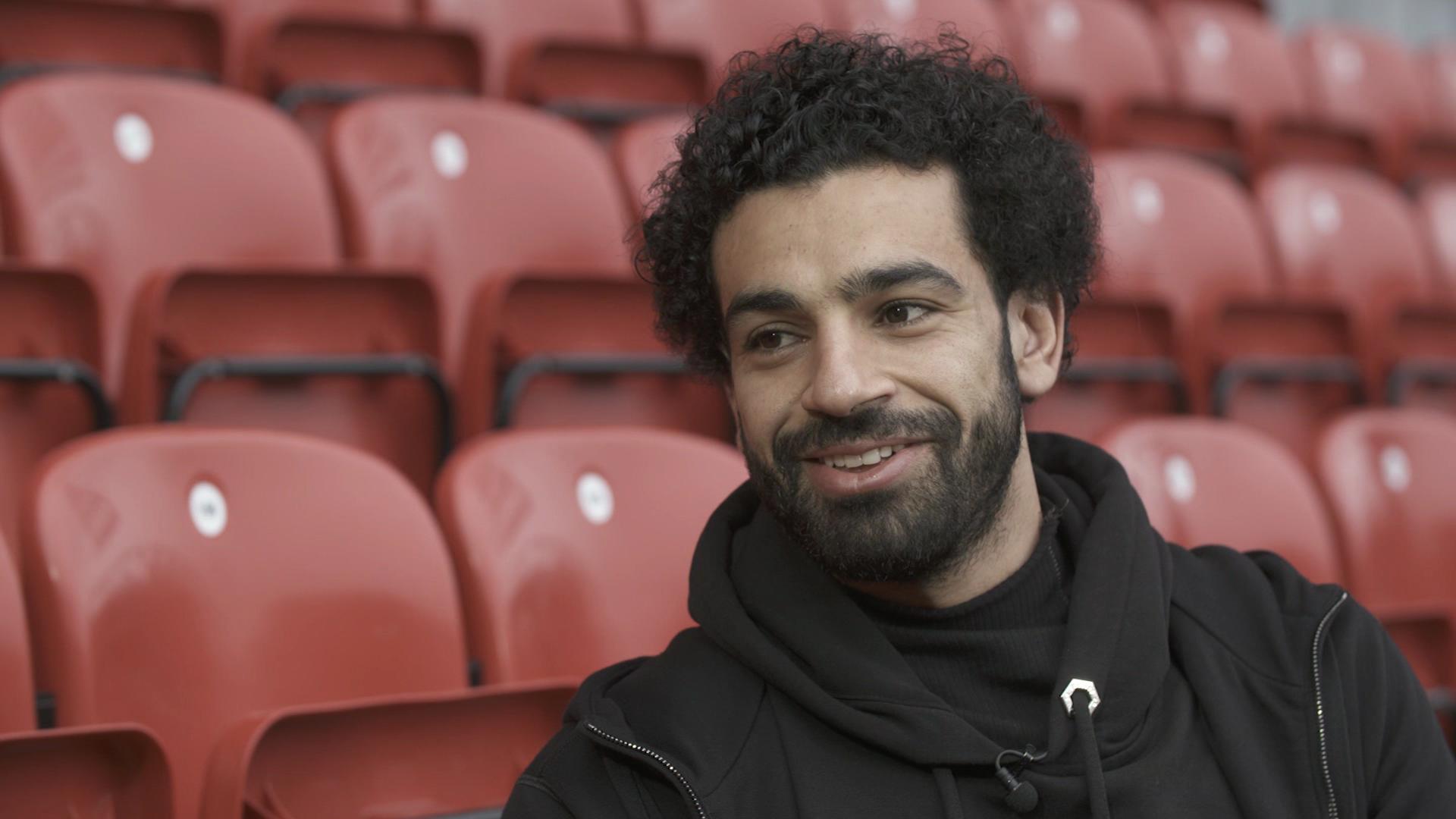 Liverpool's Mohamed Salah tells CNN that it's easier for Harry Kane or Sergio Aguero to win the Golden Boot.