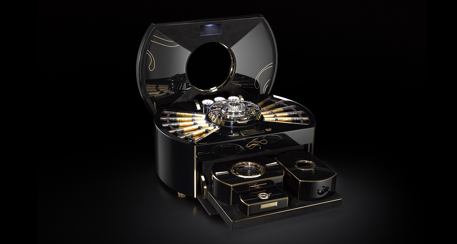 The Imperiali Empador Cigar Box Puts All Other Humidors to Shame