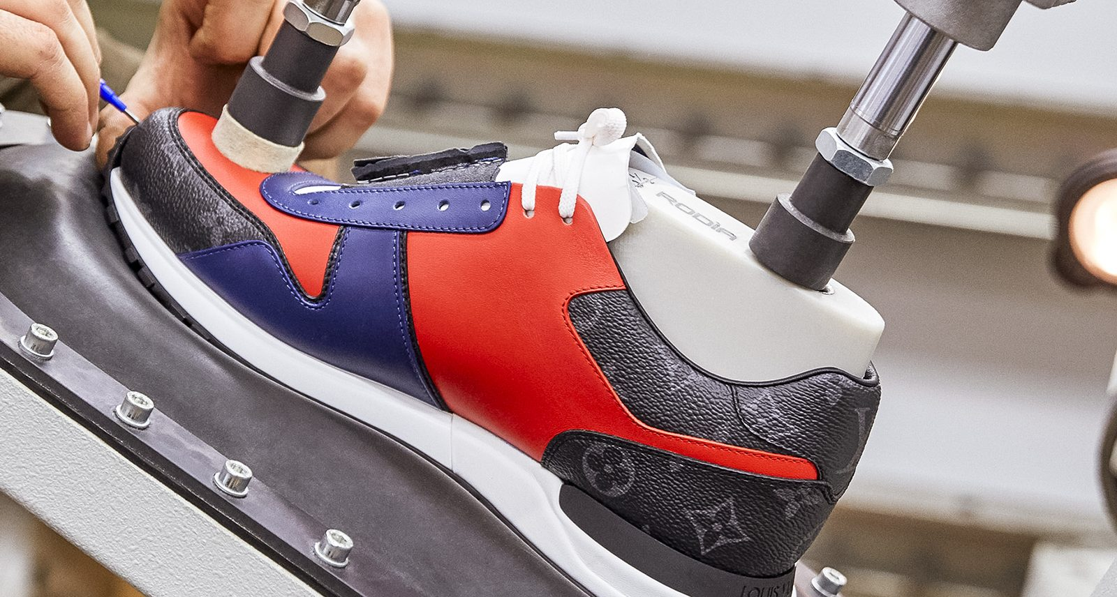 Louis Vuitton Is Letting You Customize the Freshest Sneakers of the Season