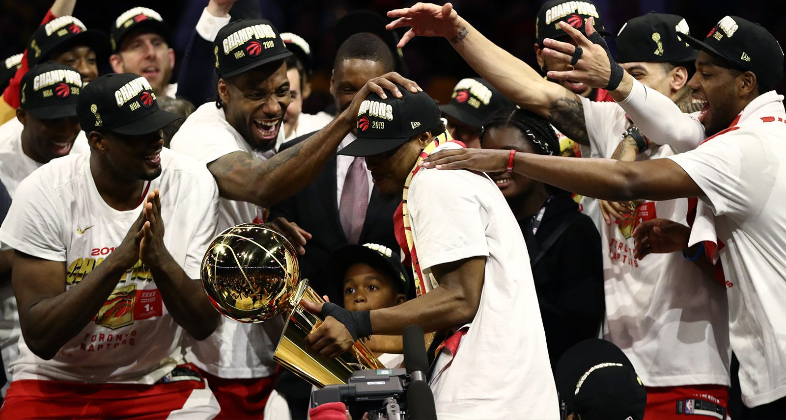 Let's Watch the Toronto Raptors Get Drunk Celebrating Their First NBA Title to Help This All Sink In