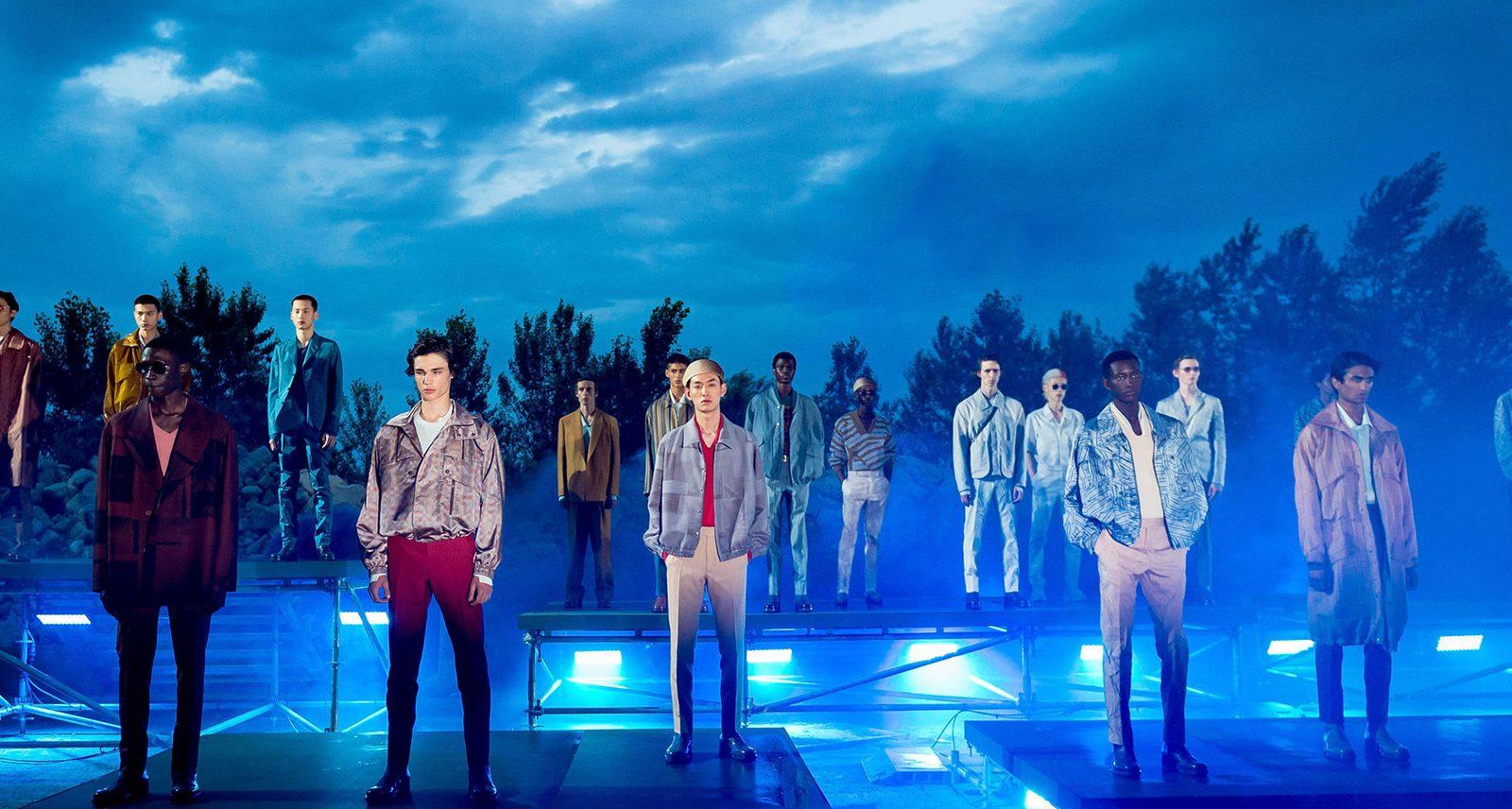 Ermenegildo Zegna's XXX Summer 2020 Fashion Show Was Big on Renewal