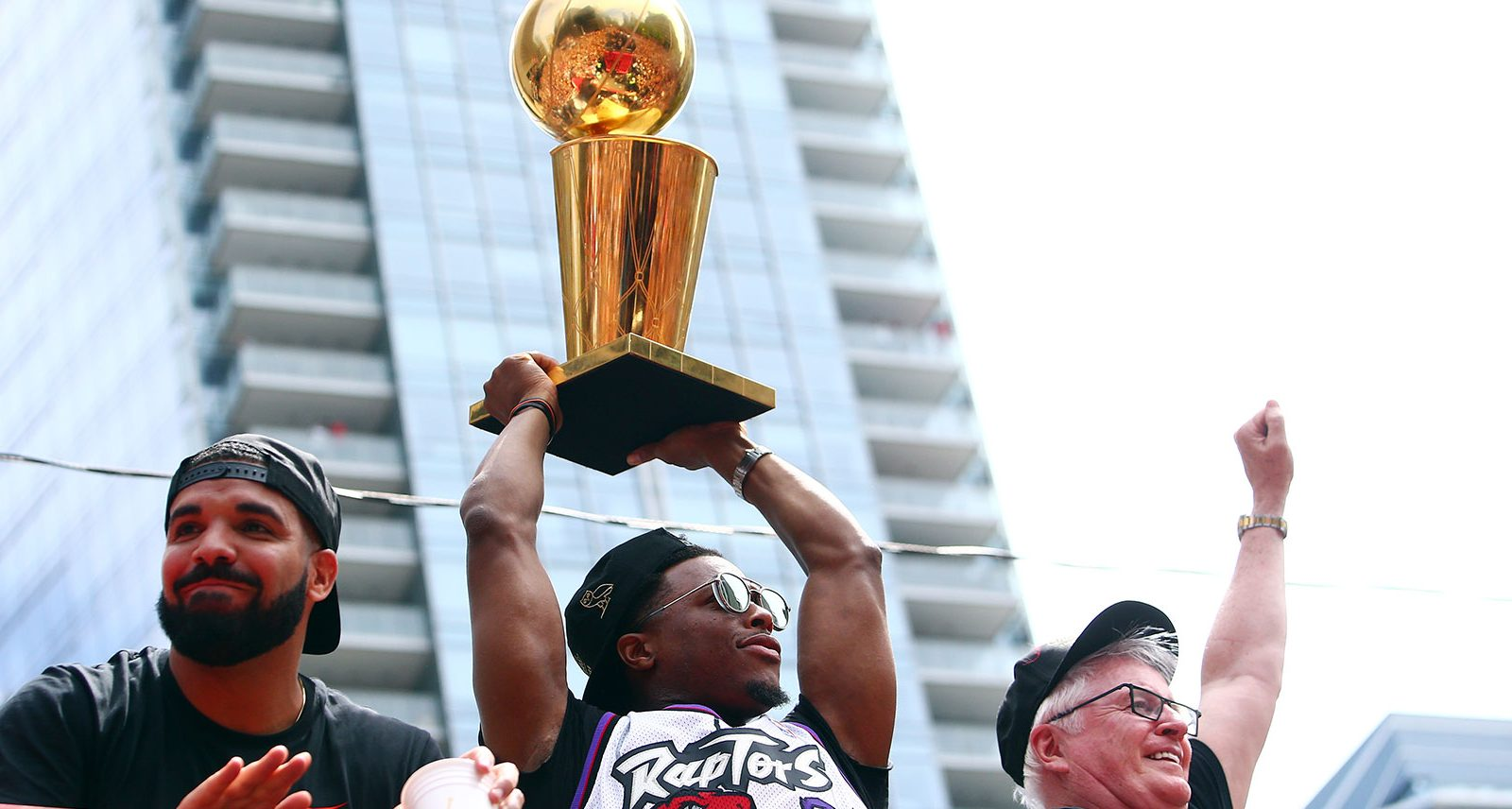 The 6 Best Moments from the Toronto Raptors Victory Parade