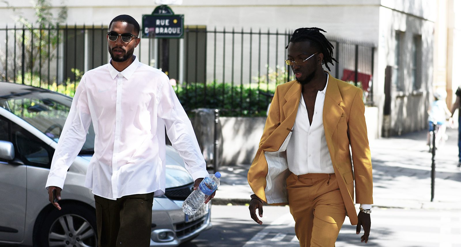 The Waviest Street Style From Paris Fashion Week Men's
