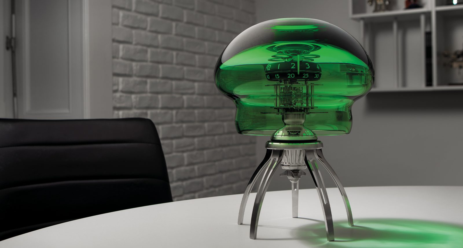 MB&F's Medusa Puts a Time-Telling Jellyfish on Your Desk