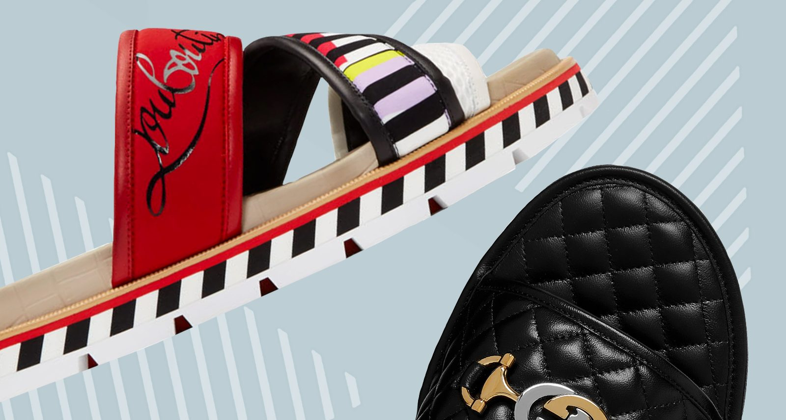 10 Slides That'll Give Your Feet the Drop-Top Swagger They Deserve