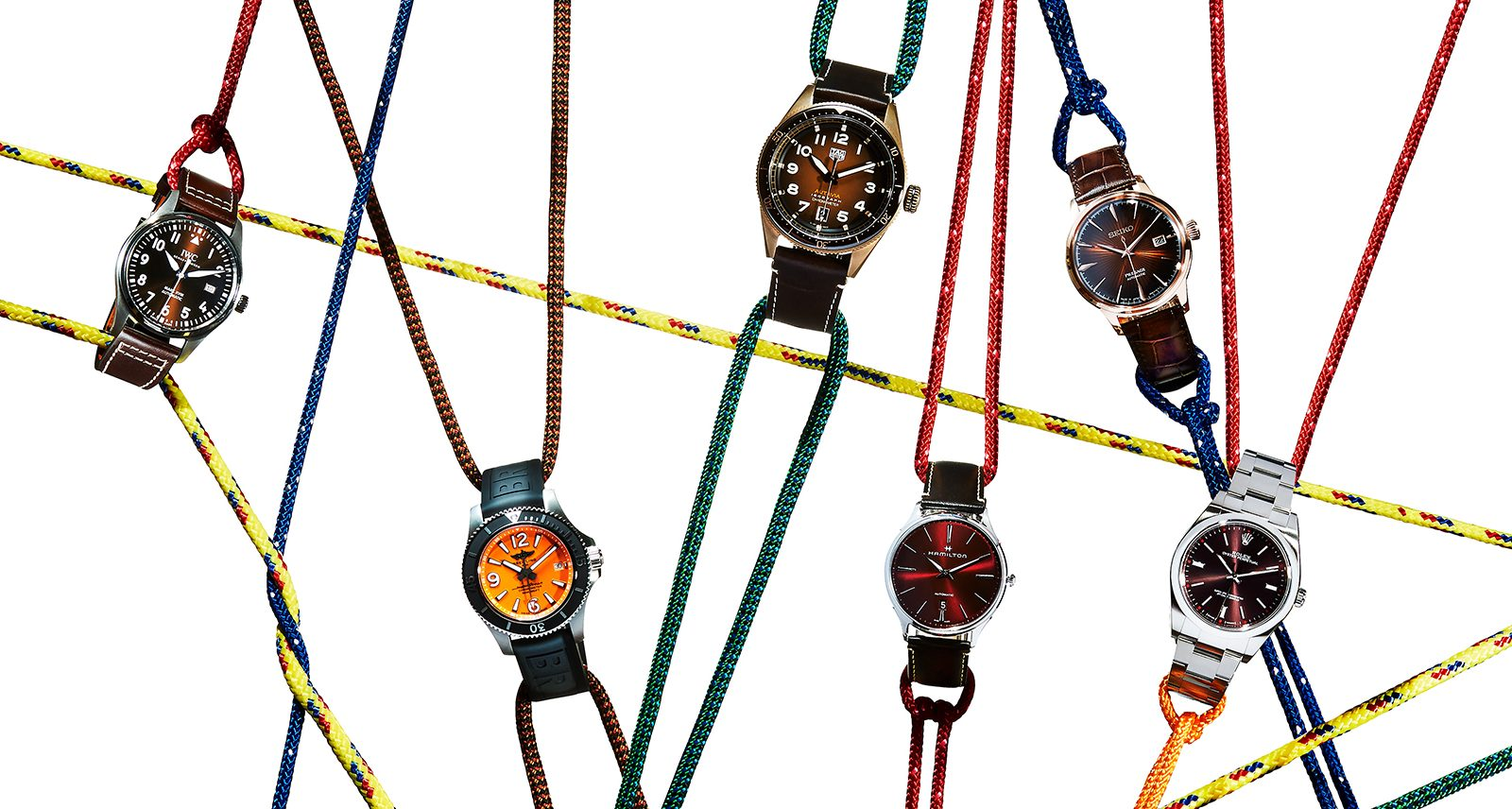 6 Earthy-Hued Watches Made for Your Fall Wardrobe