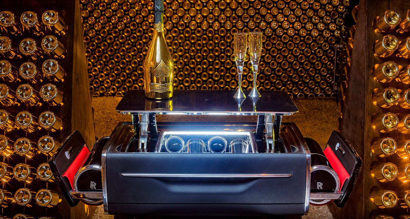 This Rolls-Royce Champagne Cooler Is, Well, the Rolls-Royce of Champagne Coolers