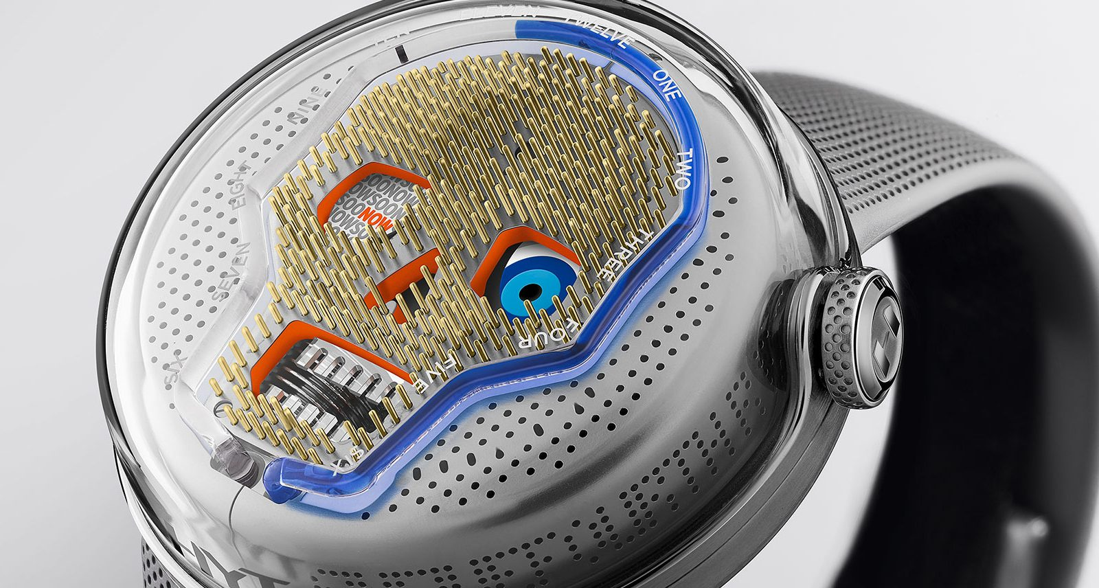 This Limited-Edition HYT Watch Shows Time Is Fluid - Literally