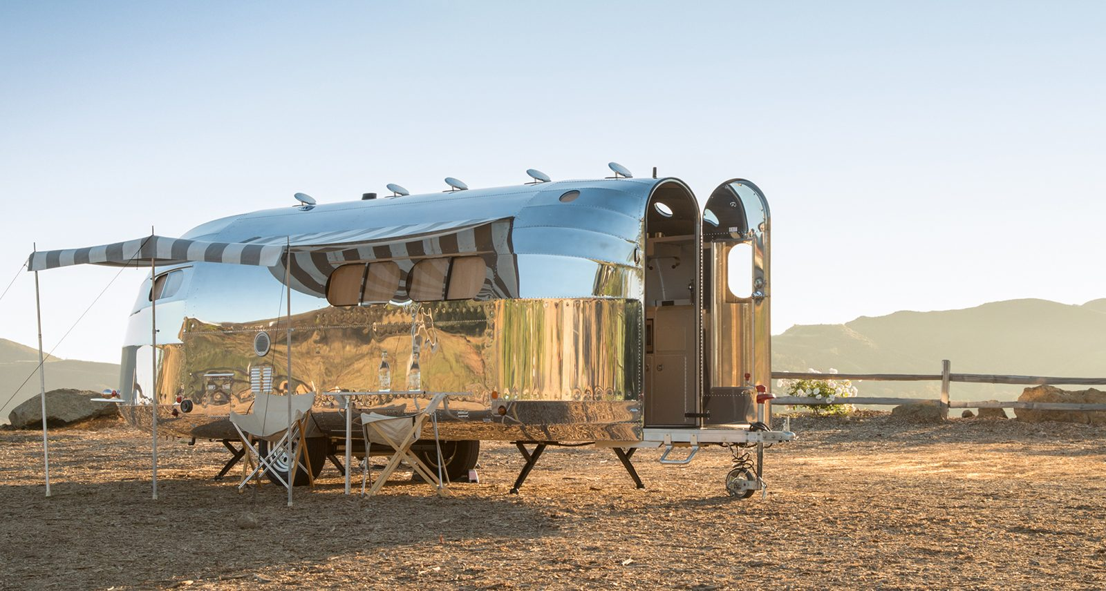 The Bowlus Road Chief Endless Highways Trailer Is a Portable Hotel Suite