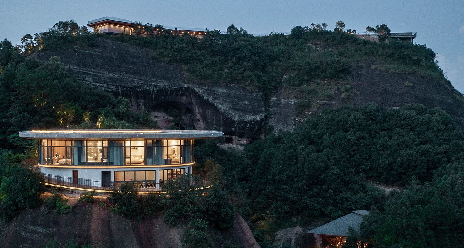 Take the High Road to This Hair-Raising Mountaintop Hotel in China