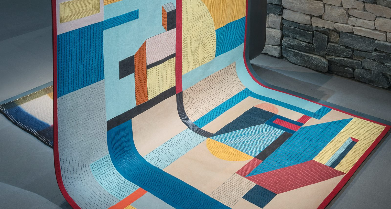 This Hermès Rug Really Ties the Room Together