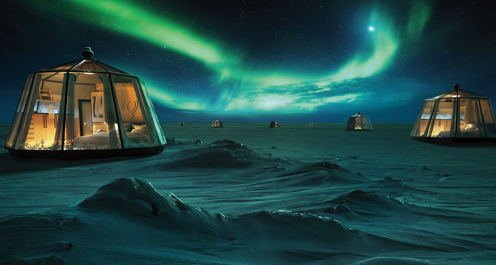 This Nordic Luxury Adventure Gives You Front-Row Seats to the Northern Lights