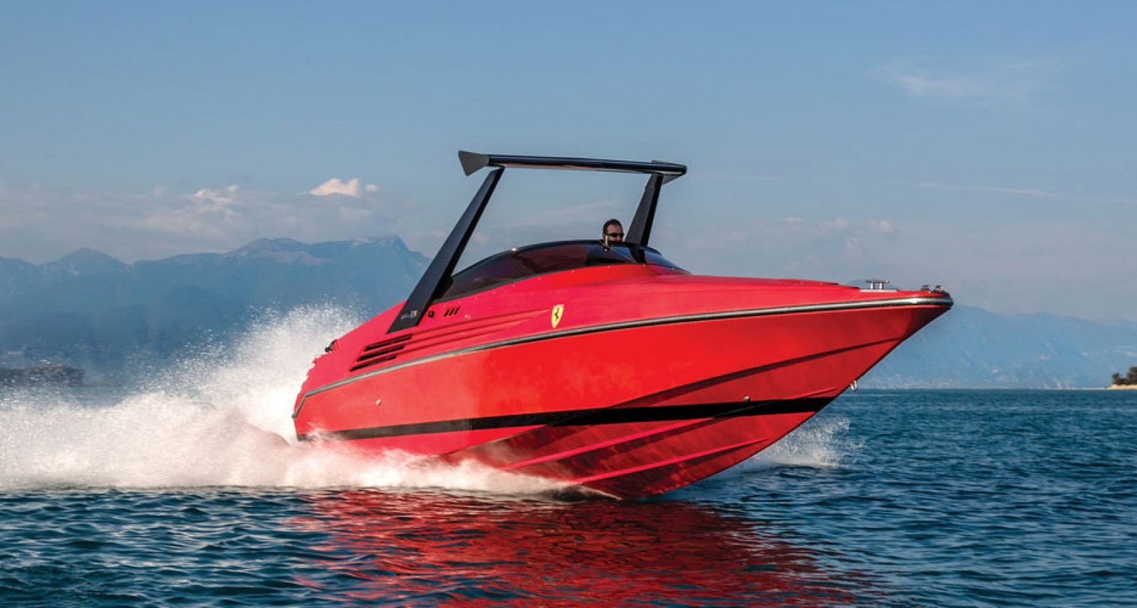 You Can Own This Extremely Rare Riva Ferrari Speedboat