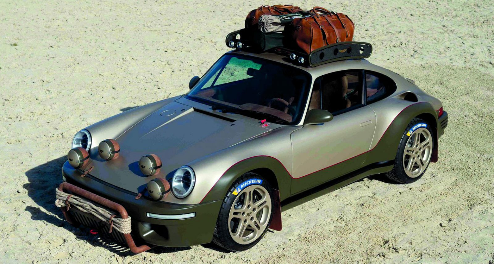 RUF'S Rodeo Concept Is the Porsche-Inspired Off-Roader for Cool Cowboys