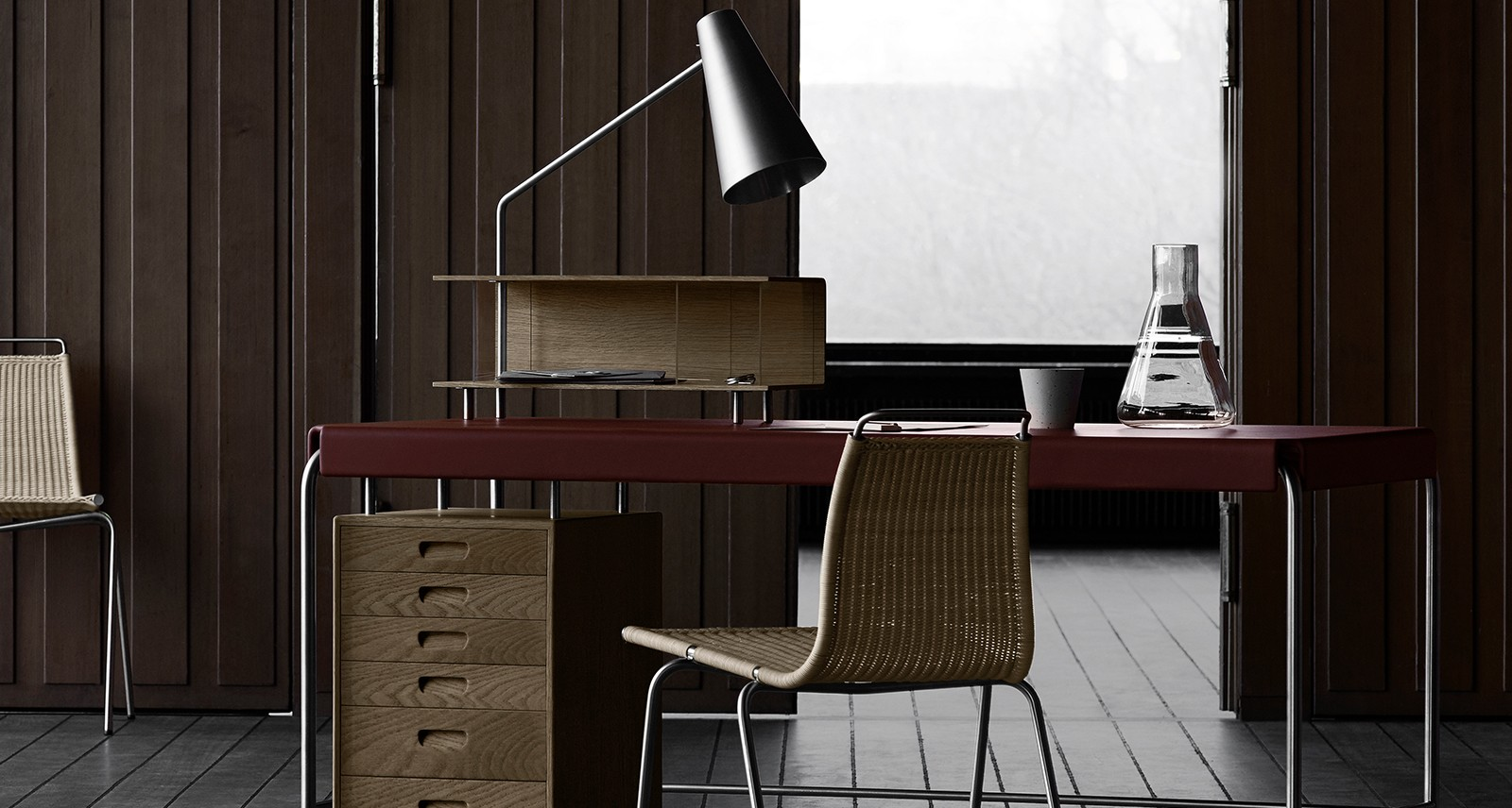 If You Buy One Piece for Your Home Office, Make It Arne Jacobsen's Society Table Desk