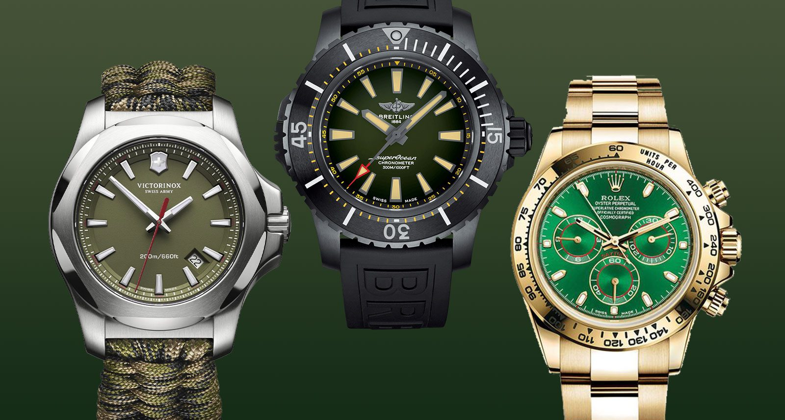 Swap Your Green Beer for a Green Watch This St. Patrick's Day