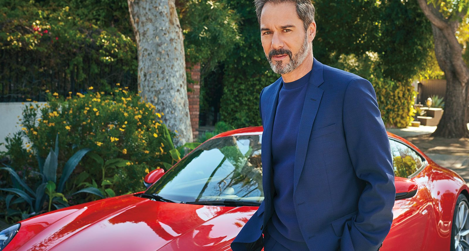 Sharp Auto Cover Star Eric McCormack Teaches a Lesson in Timelessness