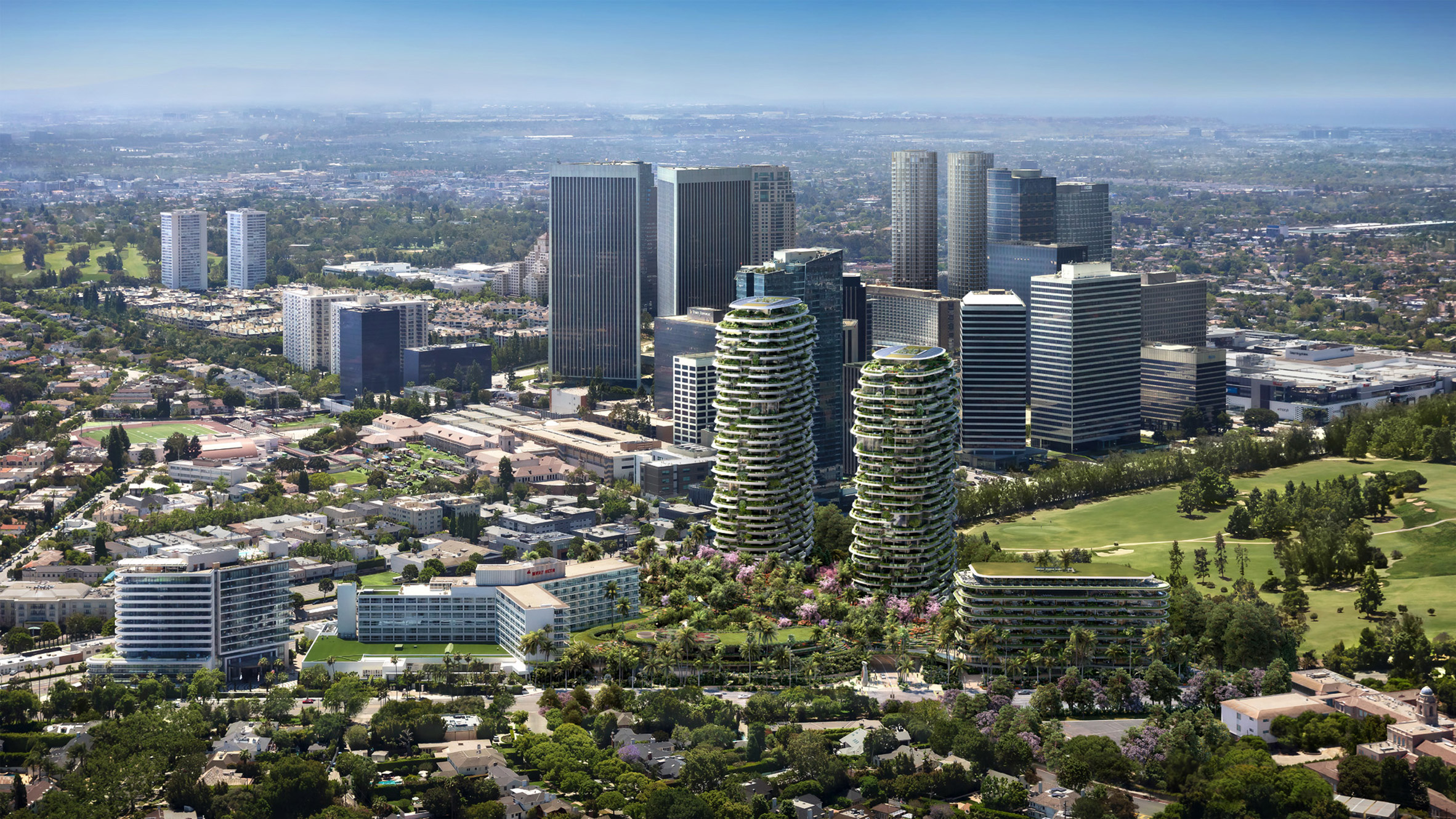 Foster + Partners' One Beverly Hills masterplan includes luxury hotel and lush gardens - This Is What We Are Reading For You