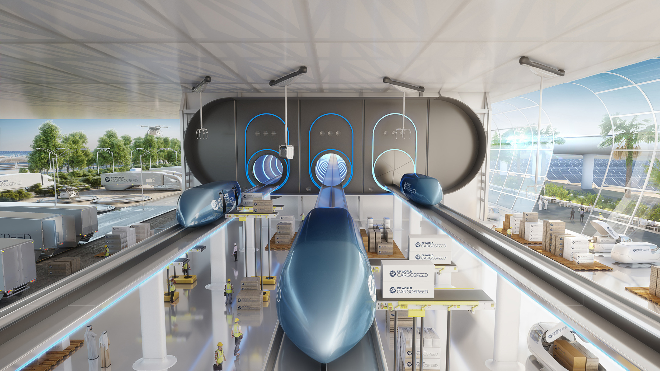 DP World, Virgin Hyperloop is closer to reality