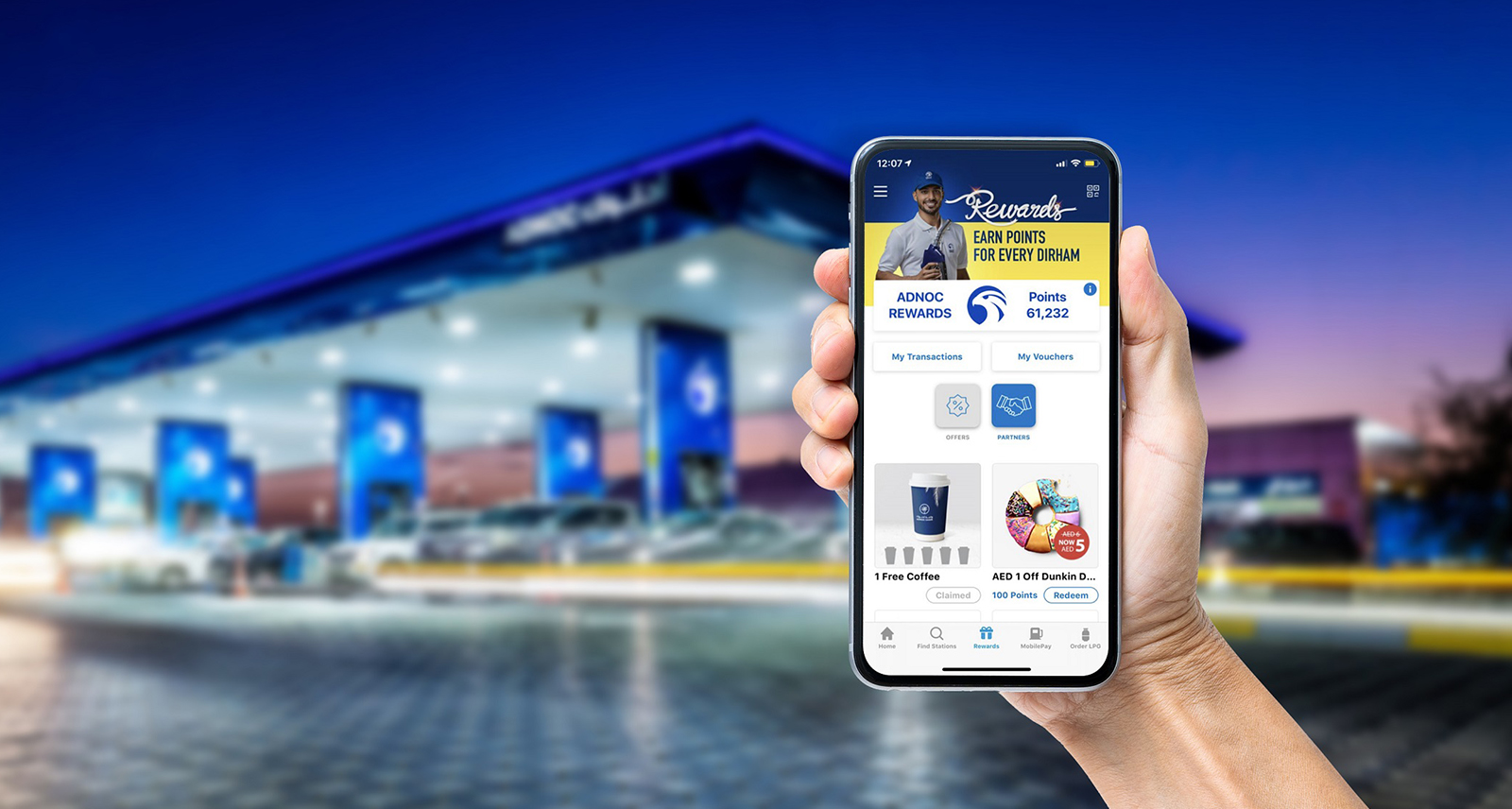 EARN POINTS WITH EVERY PURCHASE IN NEW-LOOK ADNOC REWARDS
