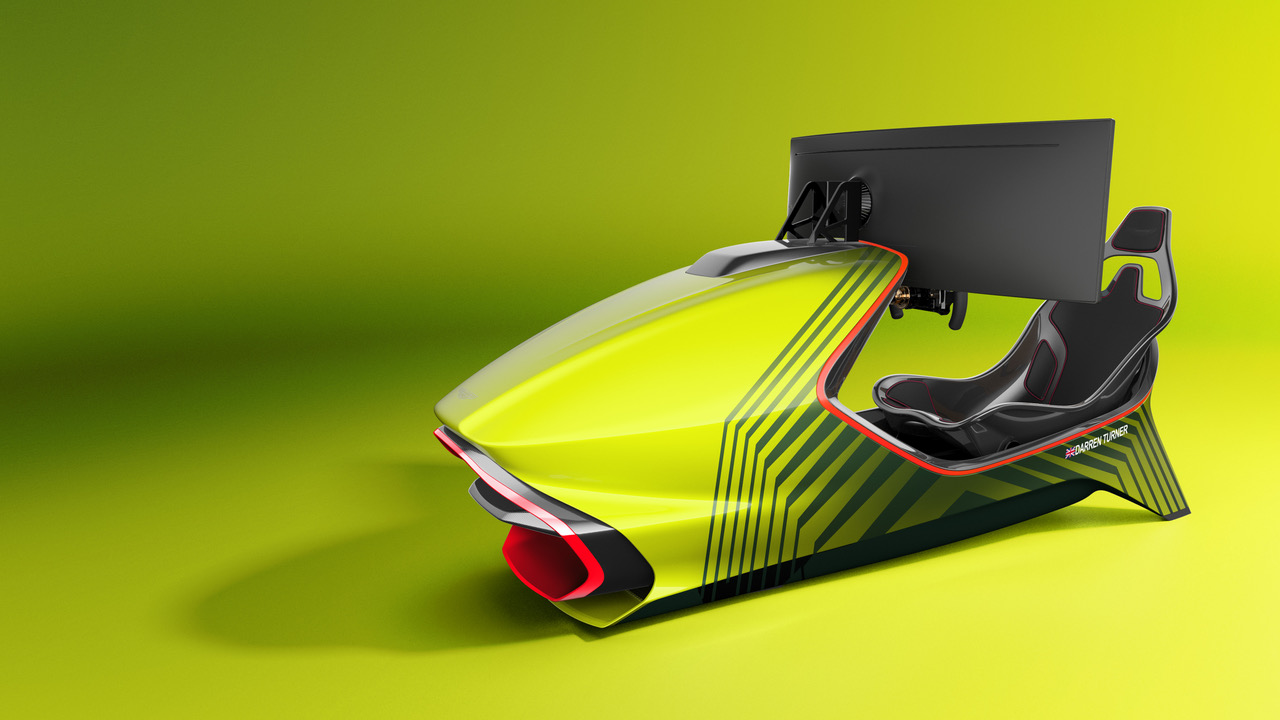 Aston Martin's First Racing Simulator Is Out.