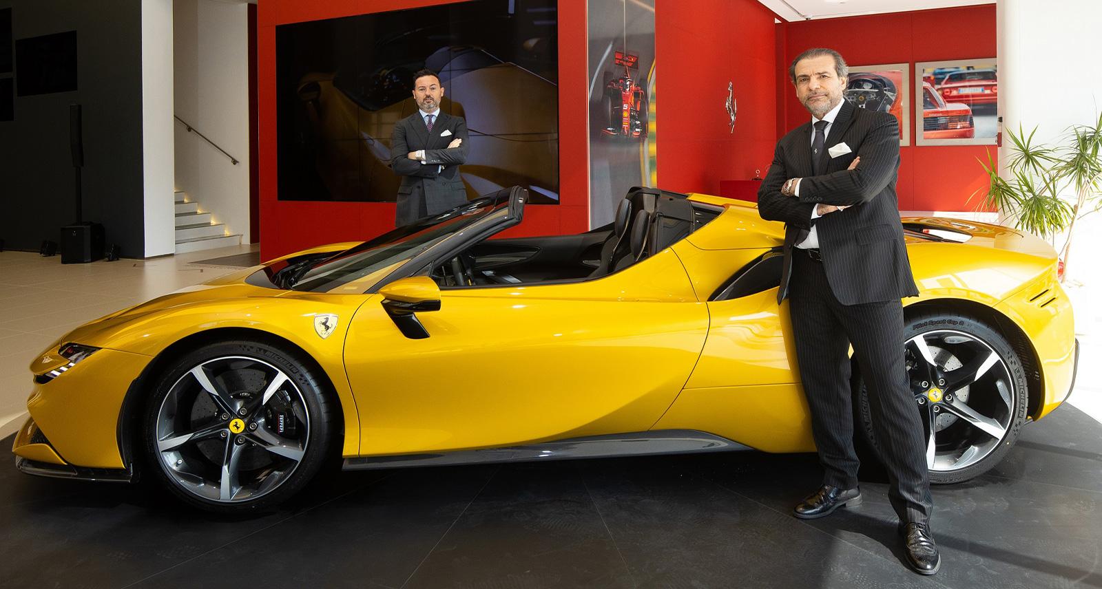 Premier Motors Previews Dedicated Ferrari Showroom in Abu Dhabi