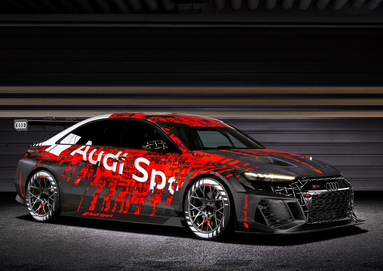 Go Faster: New Audi Racer