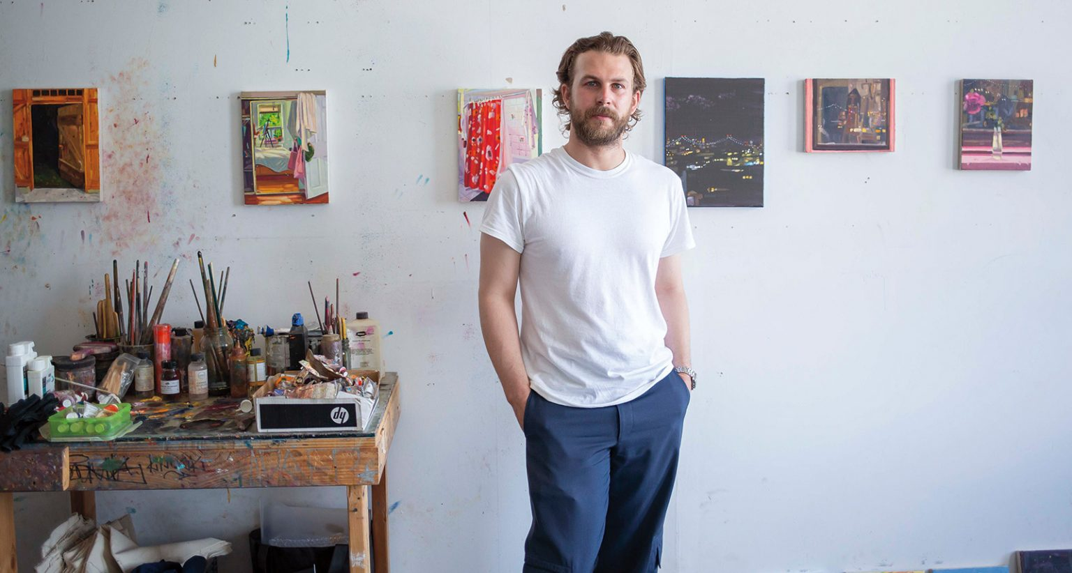 Keiran Brennan Hinton on Painting Everyday Spaces and the Role of Sentimentality in Art