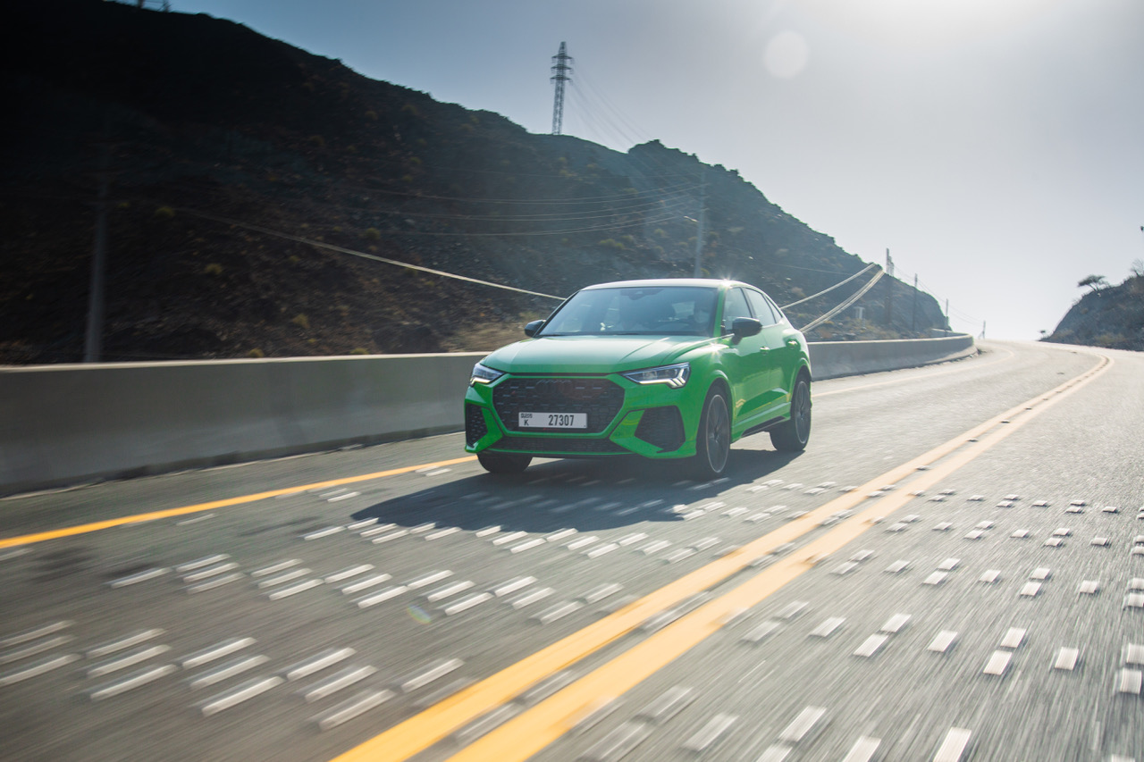 IS THE AUDI RS Q3 SPORTBACK A BABY URUS?