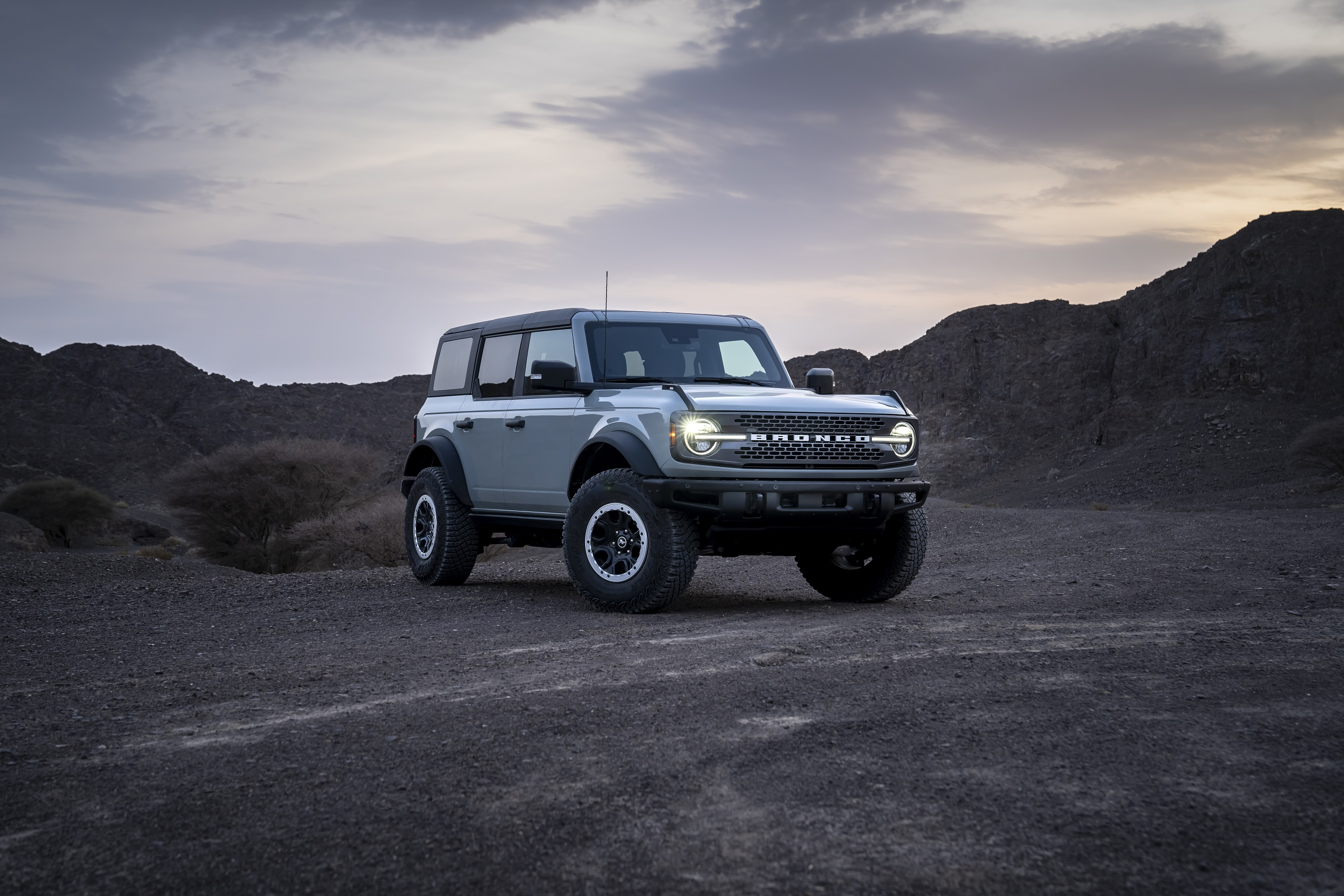 FORD BRONCO ARRIVES IN THE UAE