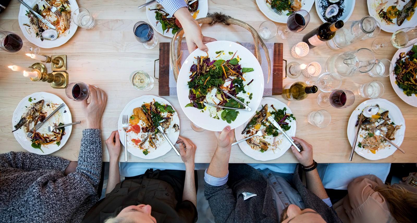 I Sat Down With 7 Random Strangers For Dinner — Here's What Happened