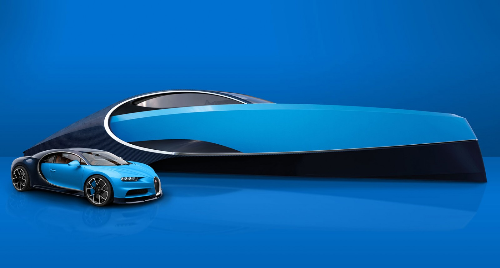 Bugatti Is Now Producing an 1,000-HP, Chiron-Inspired Yacht