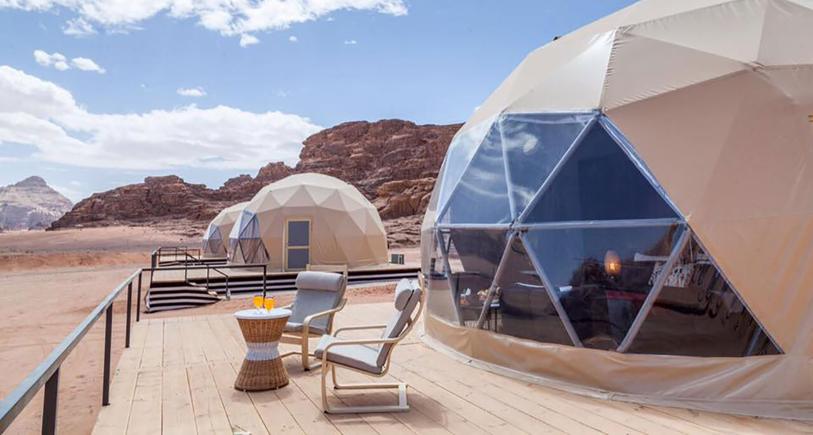 This Dome Hotel in the Jordan Desert Is the Next Best Thing to Visiting Mars