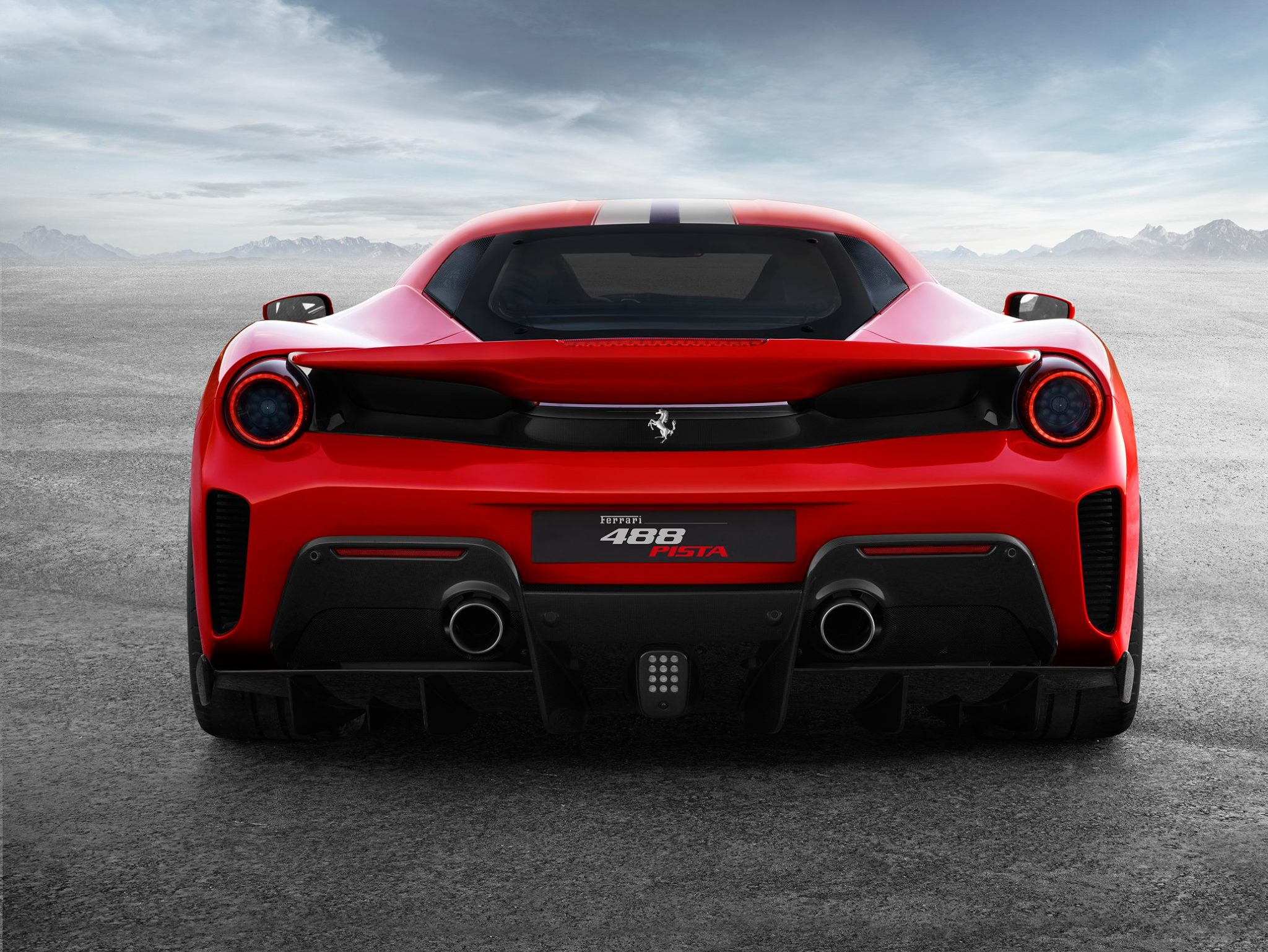 The Ferrari 488 Pista Master Of Road And Track Diagram Downforce Generated By Raked Underbody That Can Be Used To Generate Make Up For This Further Boost Designers Decided Exploit Other Areas